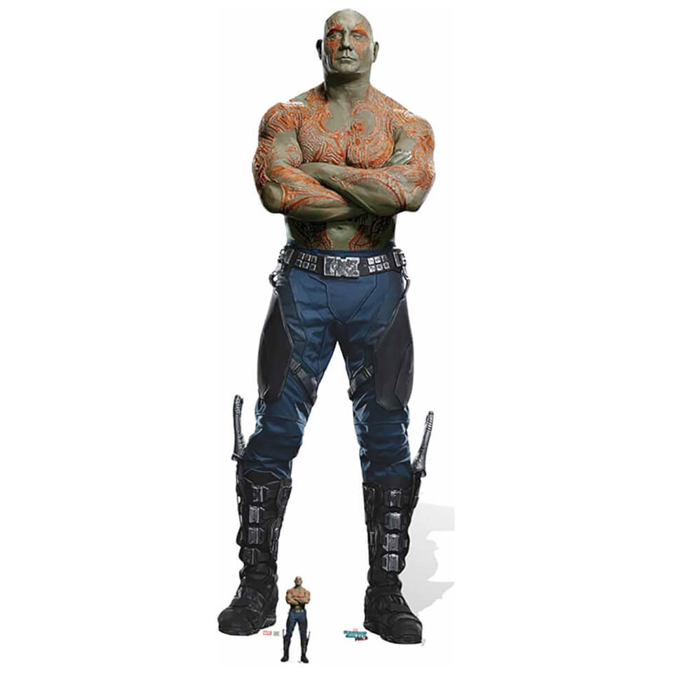 Guardians of the Galaxy Volume 2 Drax the Destroyer Cardboard Cut Out - Life Size