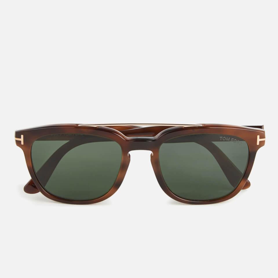 Tom Ford Mens Holt Sunglasses Tortoise Shell