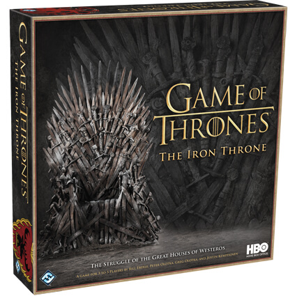 HBO Game of Thrones The Iron Throne Board Game
