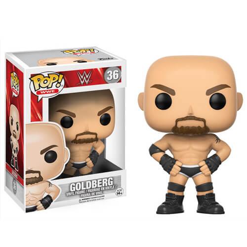 WWE Goldberg Old School Pop! Vinyl Figur