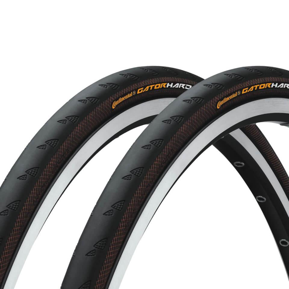 continental-gatorskin-hardshell-clincher-tyre-twin-pack-700c-x-23mm-black