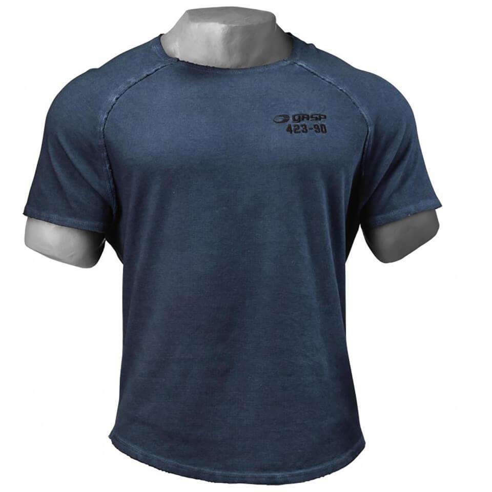 gasp-heritage-raglan-t-shirt-petrol-blue-xl-sininen