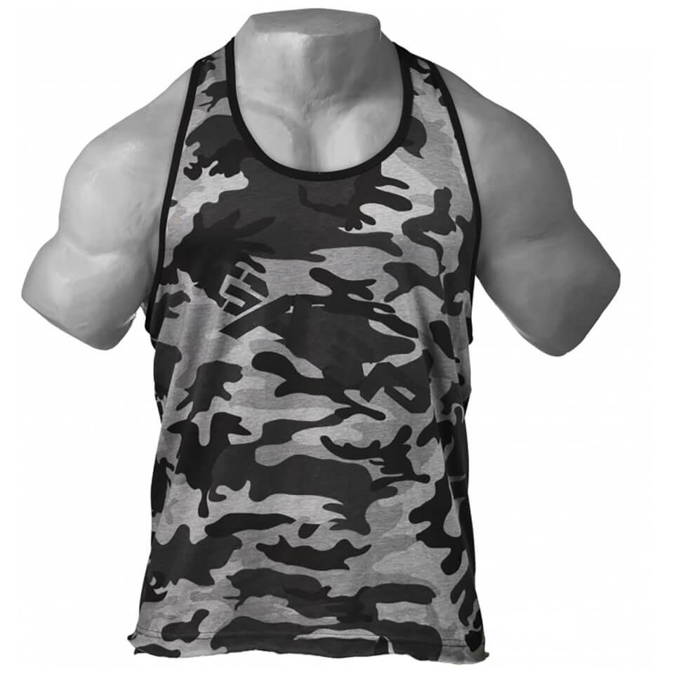gasp-vintage-t-back-vest-grey-camoprint-s-harmaa