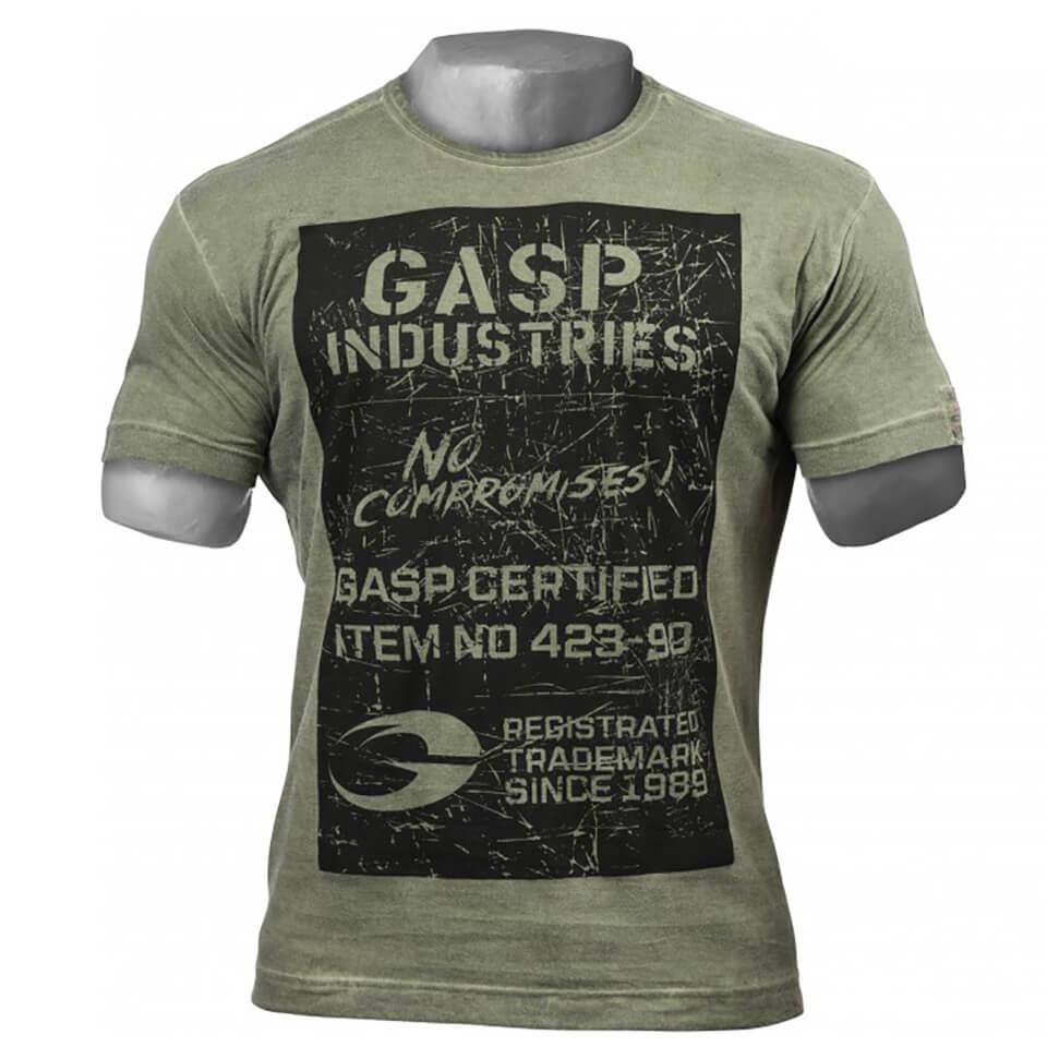 gasp-broad-street-print-t-shirt-wash-green-l-vihreae