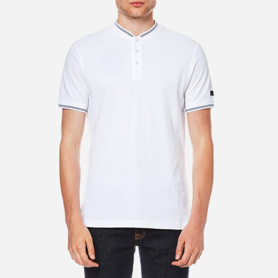 Barbour International Mens Conor Polo Shirt White Xxl