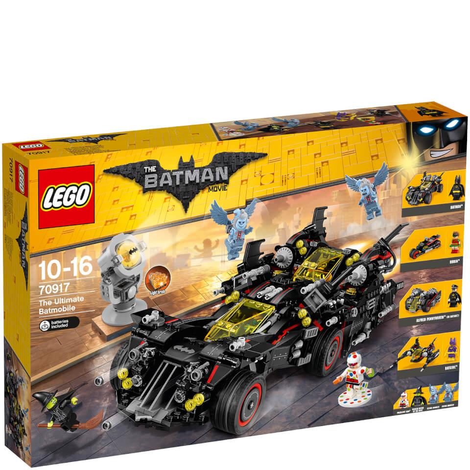 Batman 70917 Batmóvil mejorado, Juegos de construcción
