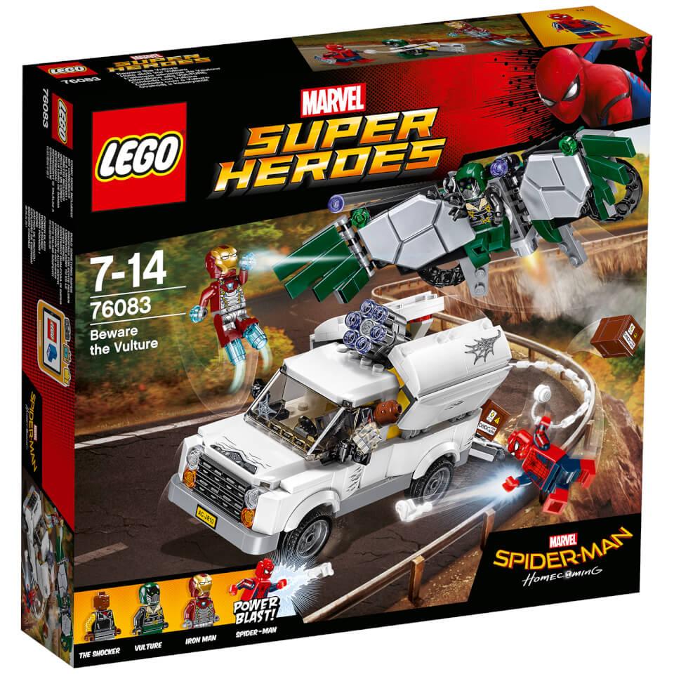 LEGO Marvel Superheroes Hüte dich vor Vulture (76083)