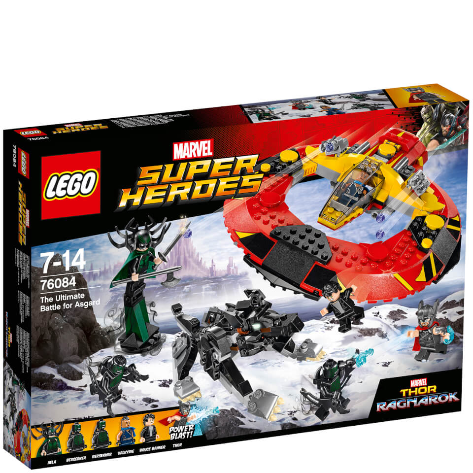 LEGO Marvel Superheroes Das ultimative Kräftemessen um Asgard (76084)