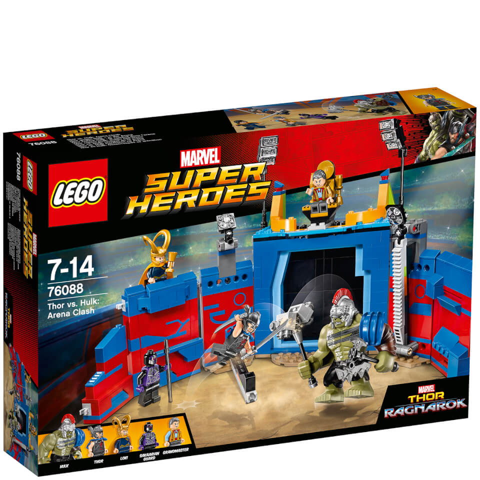 LEGO Marvel Superheroes Thor gegen Hulk – in der Arena (76088)
