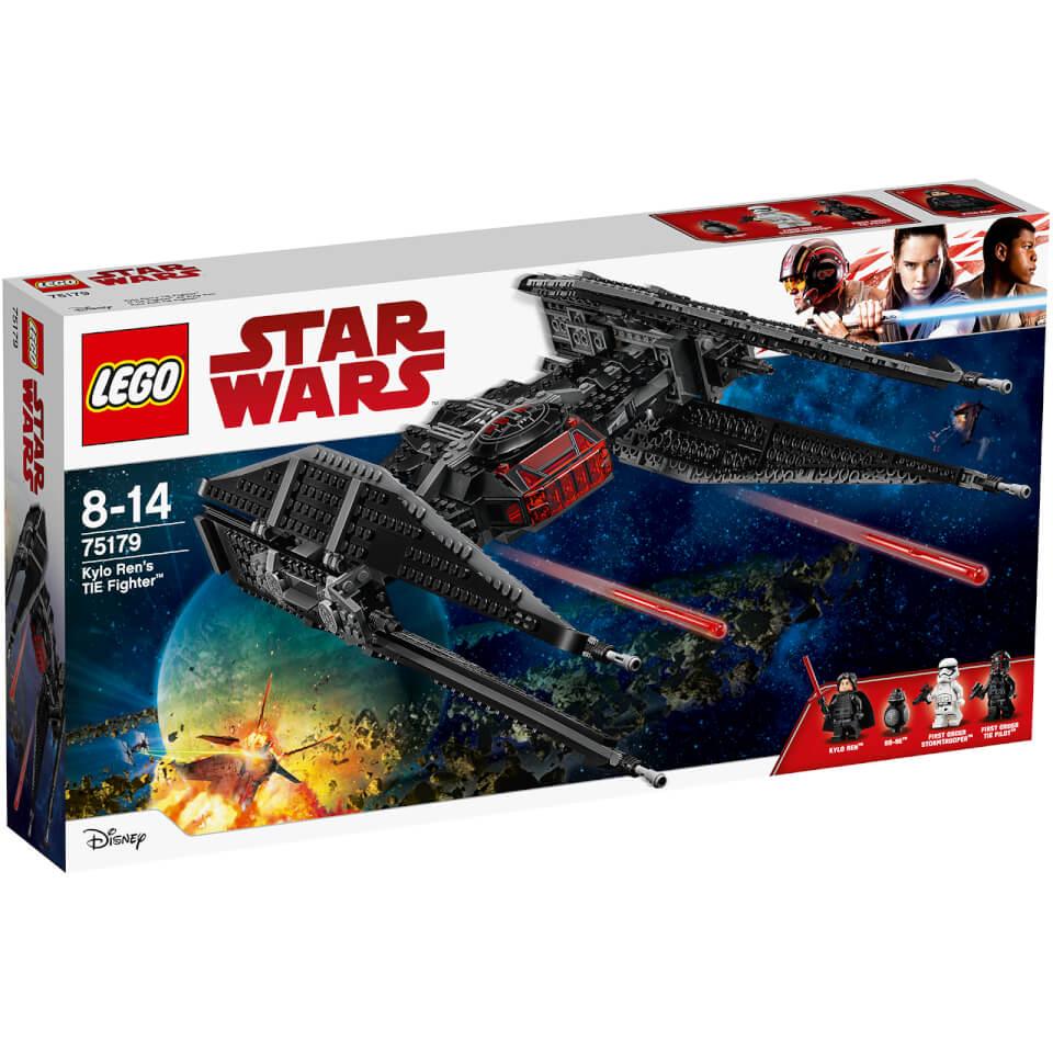 LEGO Star Wars Episode VIII Kylo Ren's TIE Fighter (75179)