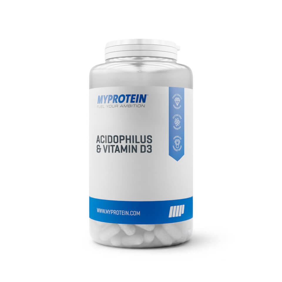 Comprimidos de Acidophilus y Vitamina D3 - 30Tabletas