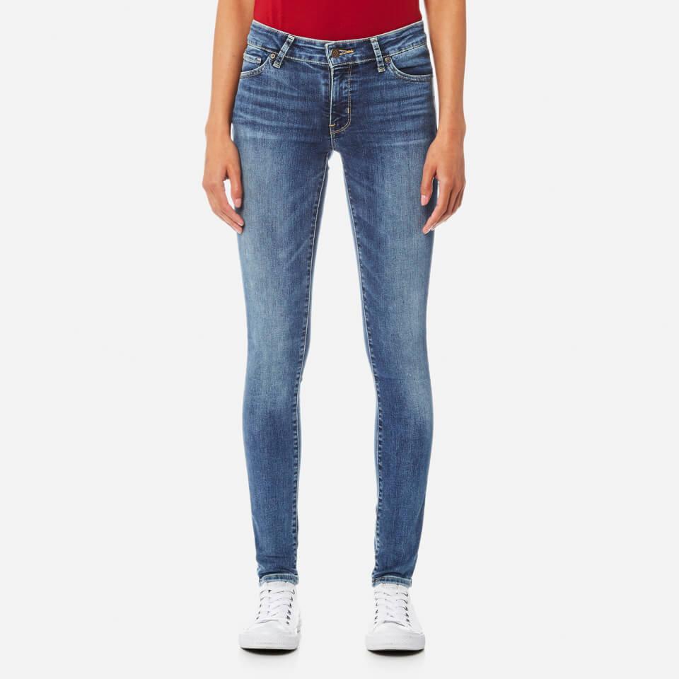 Levis Womens 711 Skinny Antiqued Jeans Antiqued W29/l30