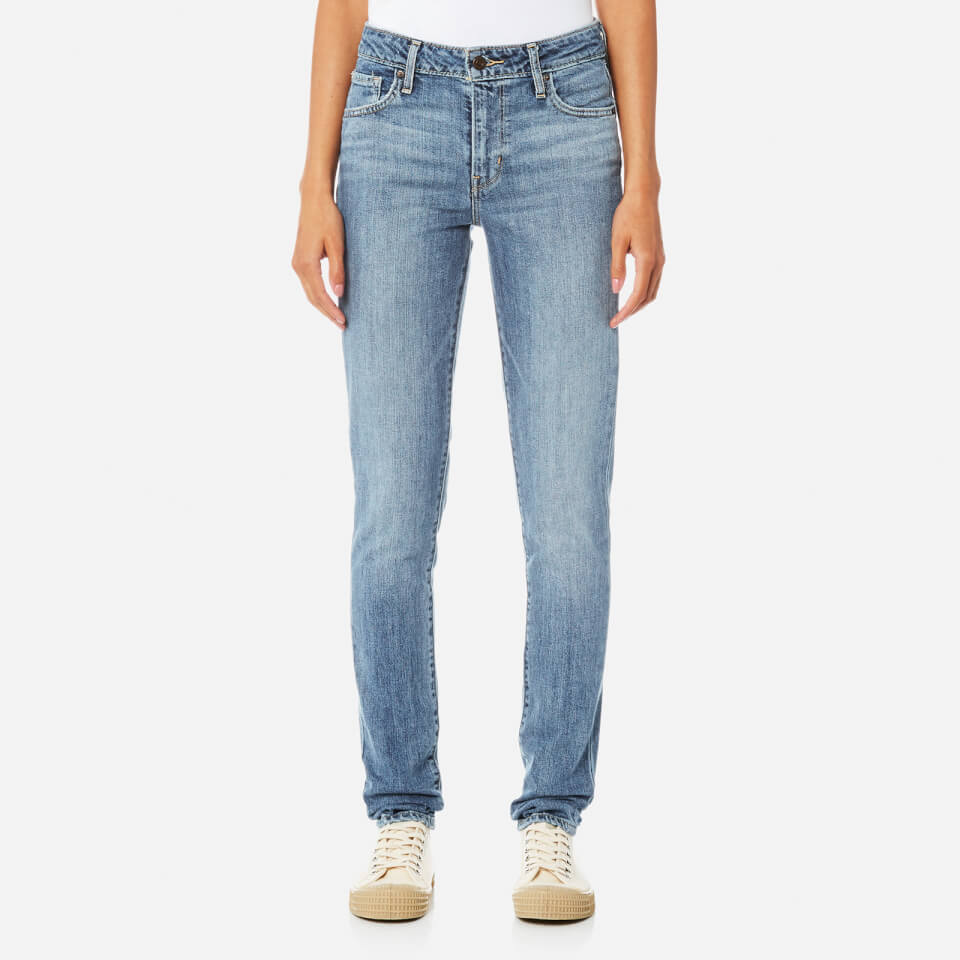Levis Womens 721 High Rise Skinny Jeans Meant To Be W30/l32