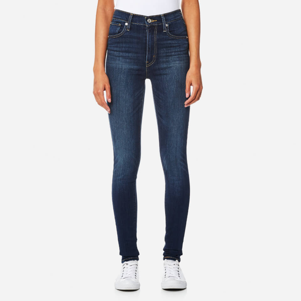 Levis Womens Mile High Super Skinny Jeans Lonesome Trail W27/l32