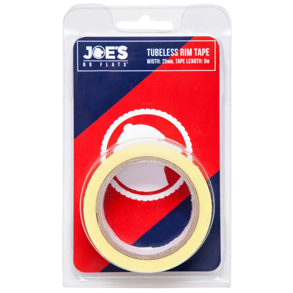 Joe's No Flats Tubeless Yellow Rim Tape - 9m x 29mm   Rim tape