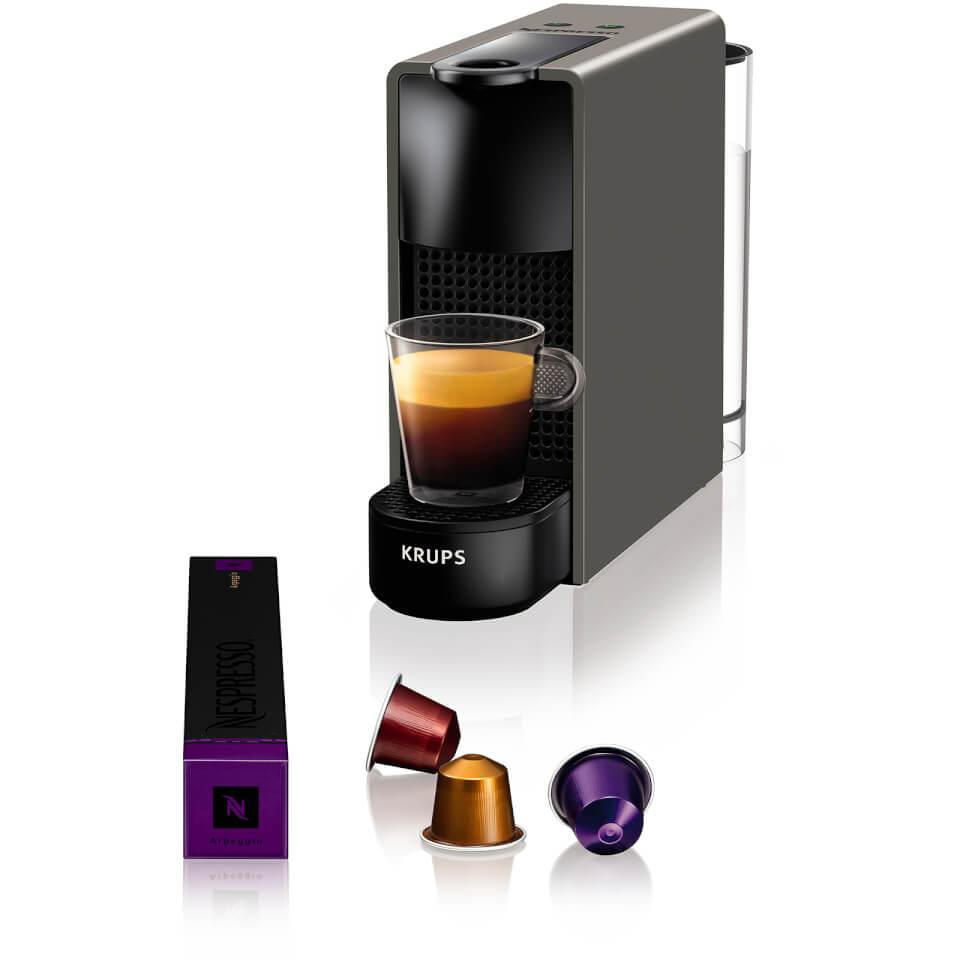 krups nespresso inissia xn1001 cafetera blanco 16. Black Bedroom Furniture Sets. Home Design Ideas