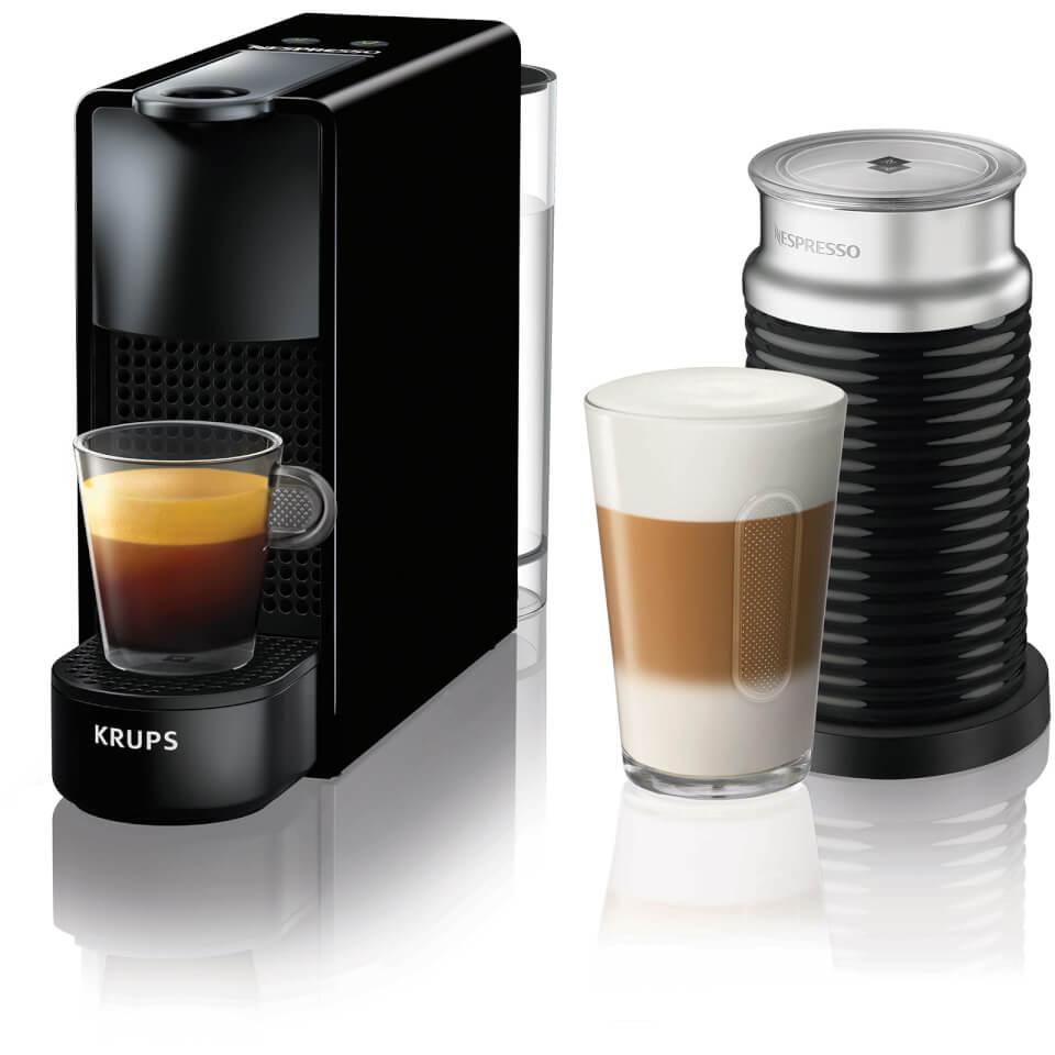 nespresso by krups xn111840 essenza mini black bundle iwoot. Black Bedroom Furniture Sets. Home Design Ideas