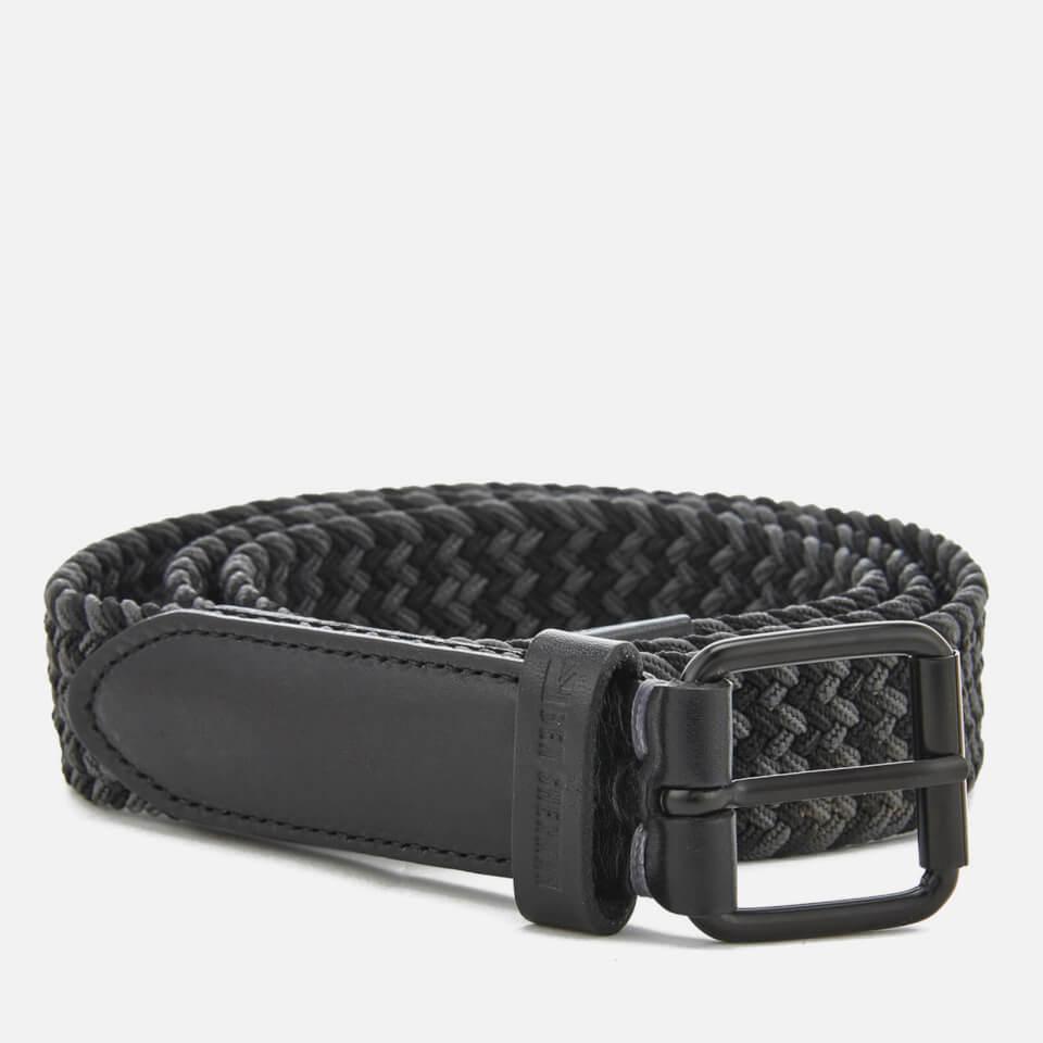 Cinturón Ben Sherman Barbican - Hombre - Negro/gris - L-XL - Negro