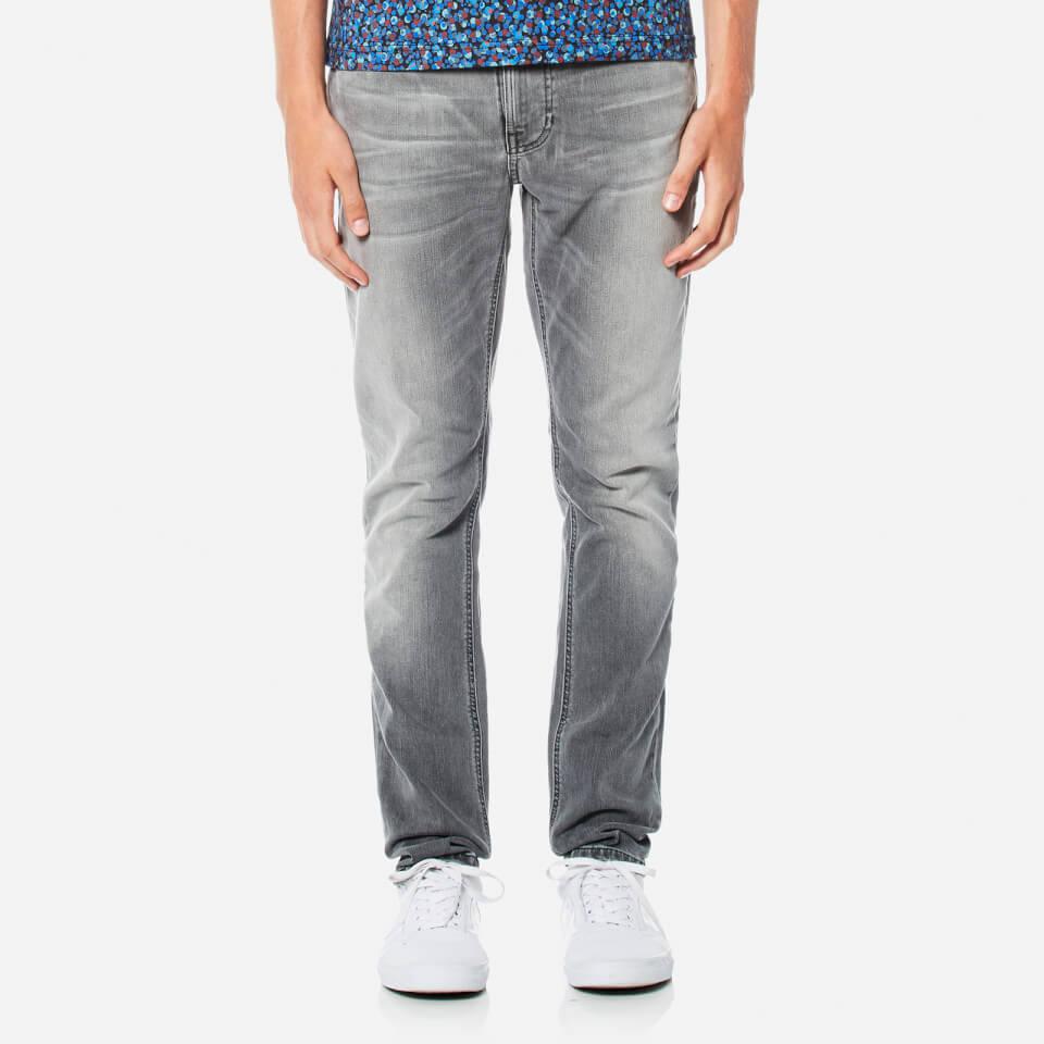 Nudie Jeans Mens Lean Dean Slim Jeans Grey Ace W30/l30