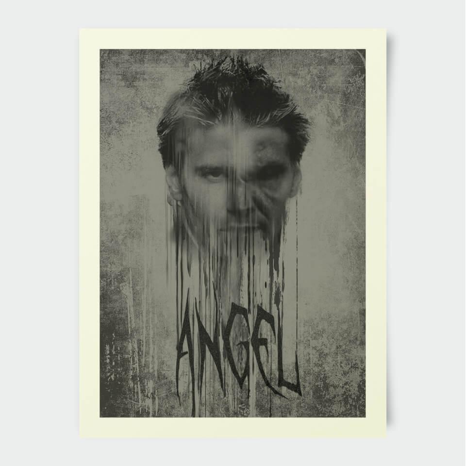 Poster Buffy Contre les Vampires Angel 30 x 40 cm