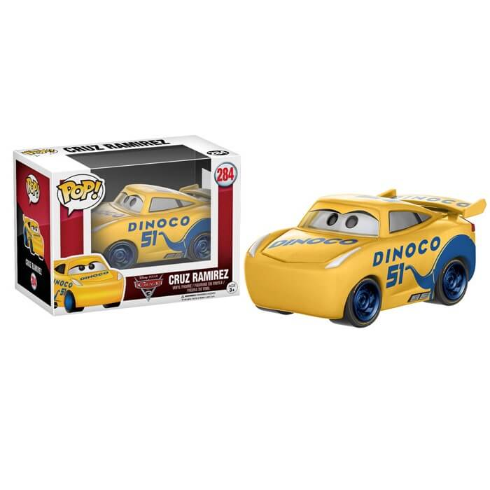 Figura Funko Pop! Cruz - Disney Cars 3