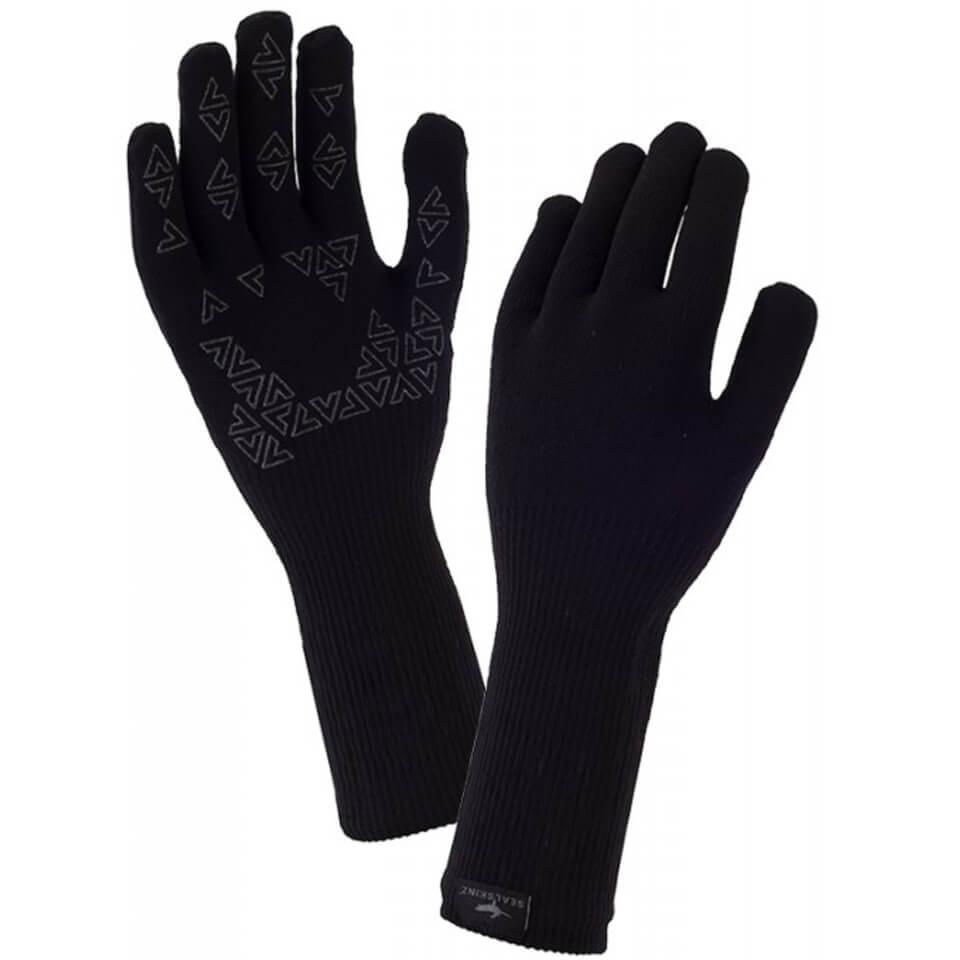 Sealskinz Ultra Grip Gauntlet Gloves - Black | Handsker