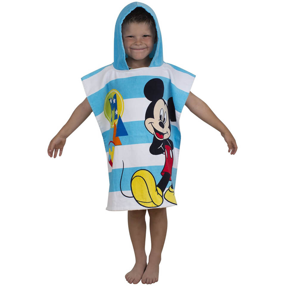 Disney Mickey Mouse Boo Poncho Towel