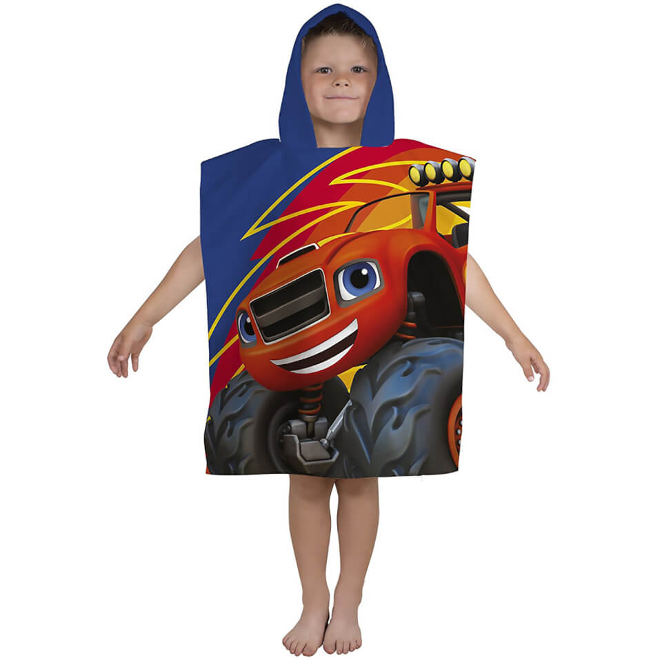 Toalla Poncho Blaze y los Monster Machines - Niño