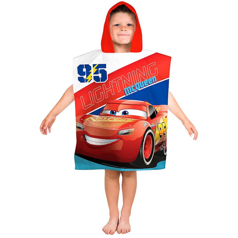 Toalla Poncho Disney Cars Rayo McQueen - Niño