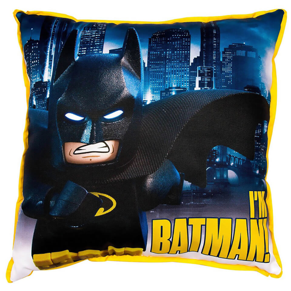 Cojín reversible Hero - Batman: La Lego Película