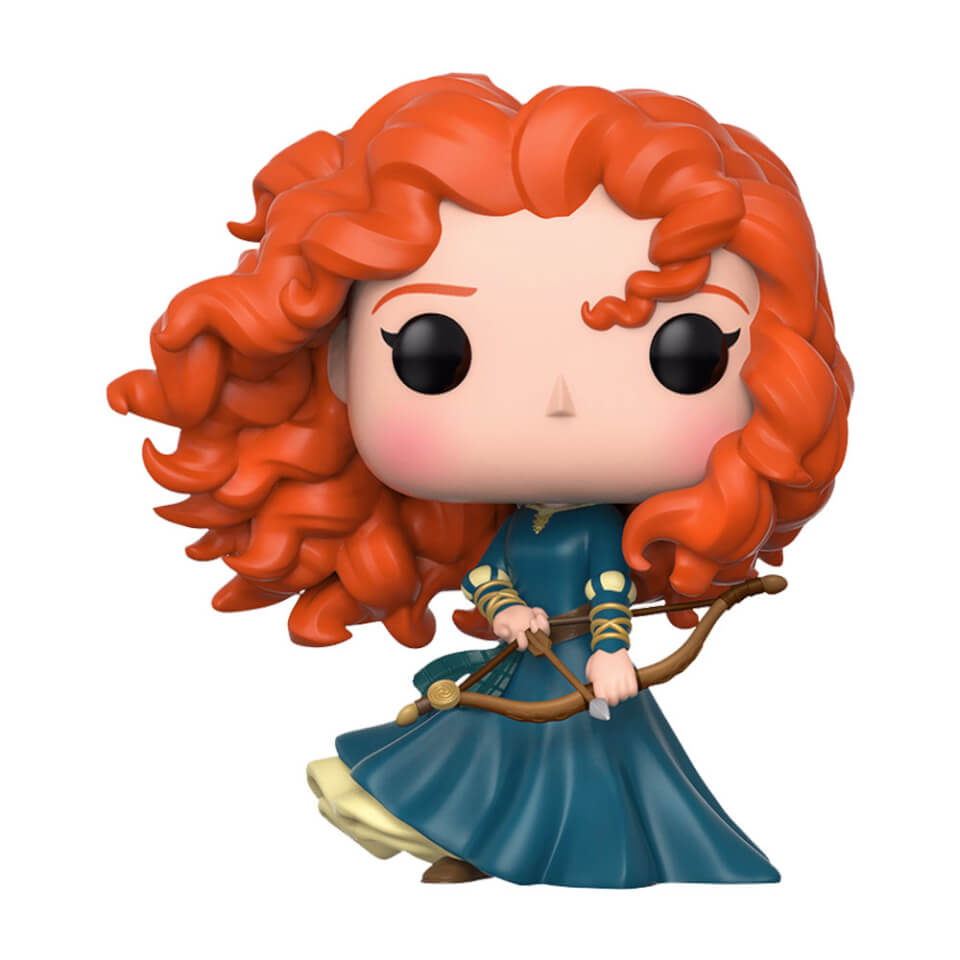 Figurine Pop! Merida Rebelle - Disney | Pop In A B...