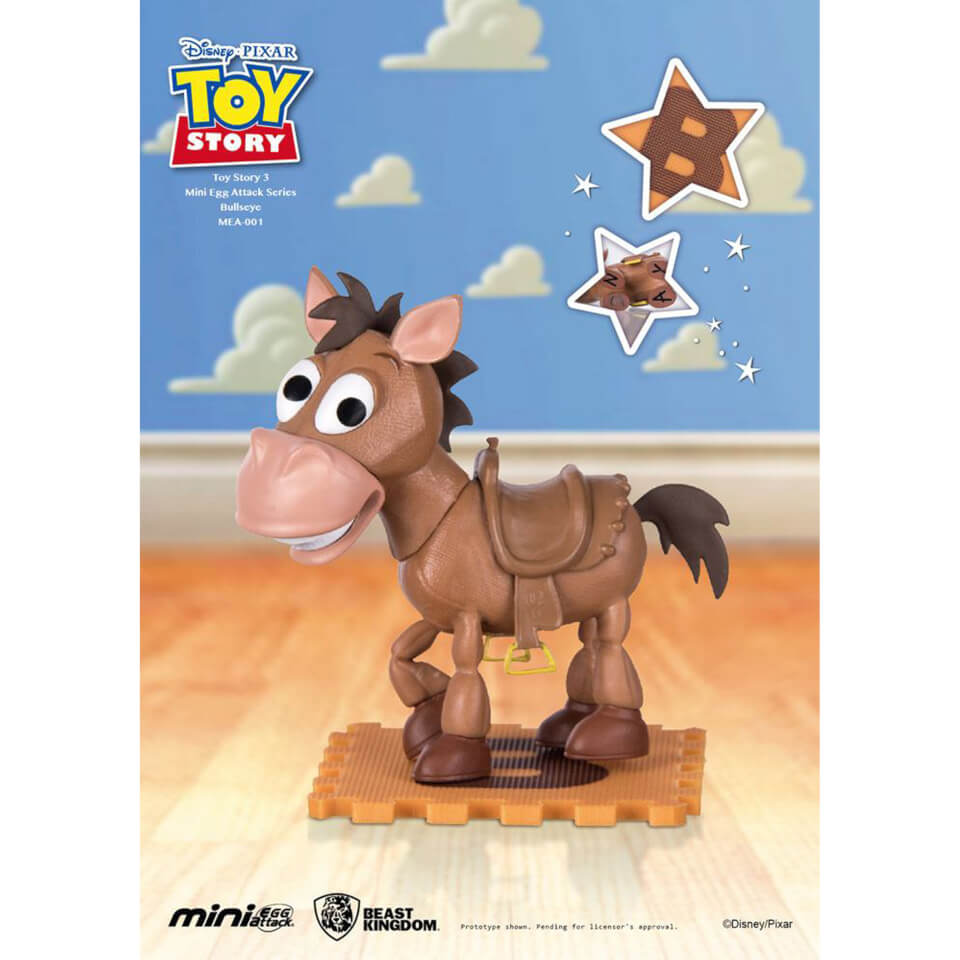 Beast Kingdom Disney Toy Story Mini Egg Attack Bullseye 9cm Figure