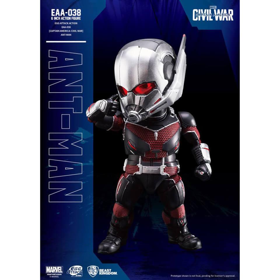 Beast Kingdom Marvel Captain America Civil War Egg Attack Ant Man 16cm Action Figure