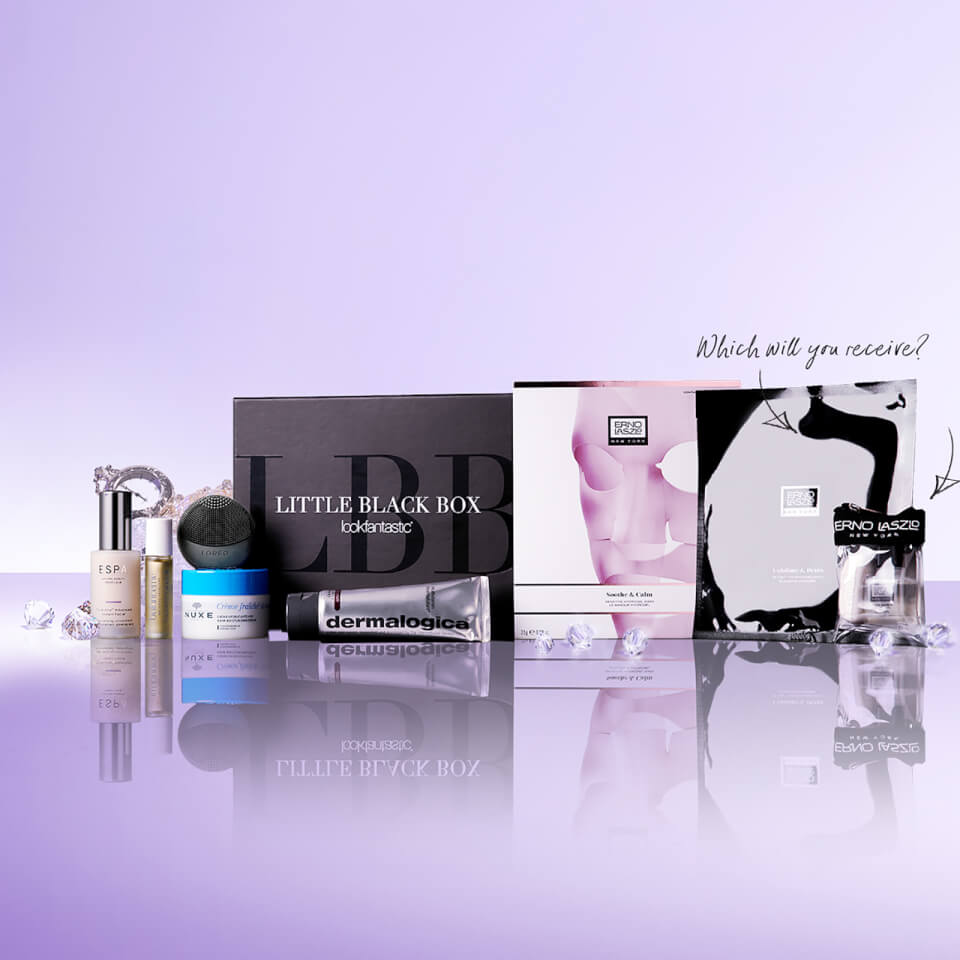 lookfantastic Limited Edition Little Black Box (Worth £218) | Free ...