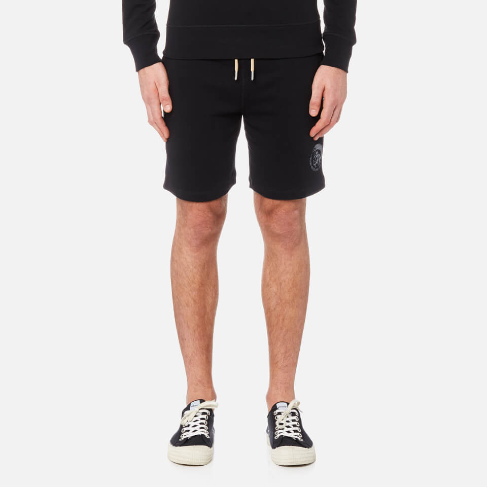 Diesel Men's Pan Sweat Shorts - Black - L
