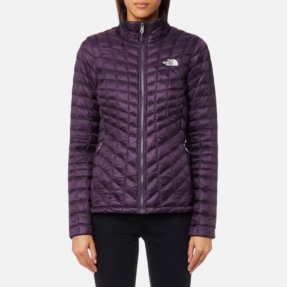 The north face womens thermoball zip in jacket dark eggplant purple womens  clothing jpg 960x960 Dark 6be6a650a