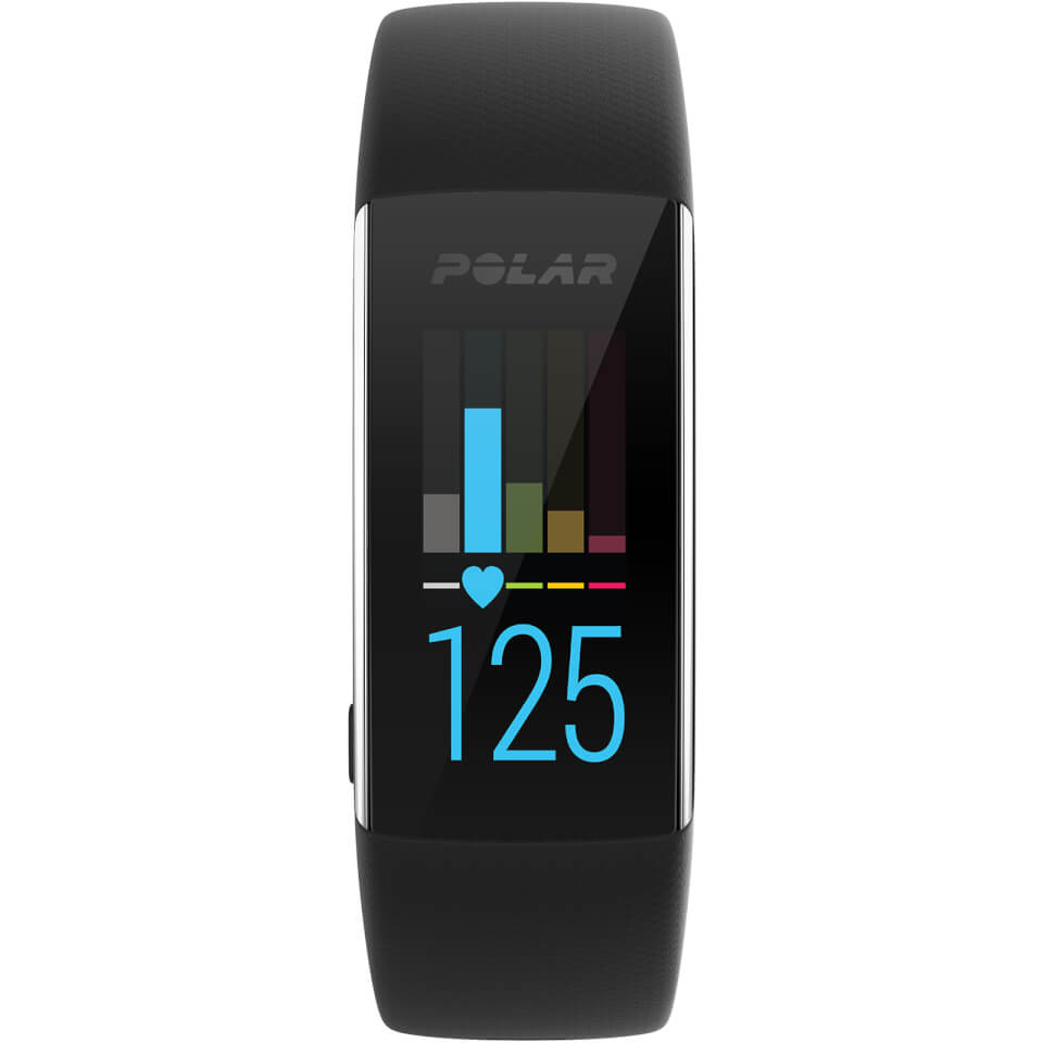 Polar A370 Heart Rate Fitness Tracker - Black   phone_mounts_component