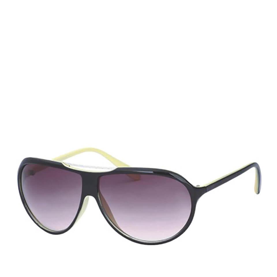 Gafas de sol Wrap - Hombre - Negro