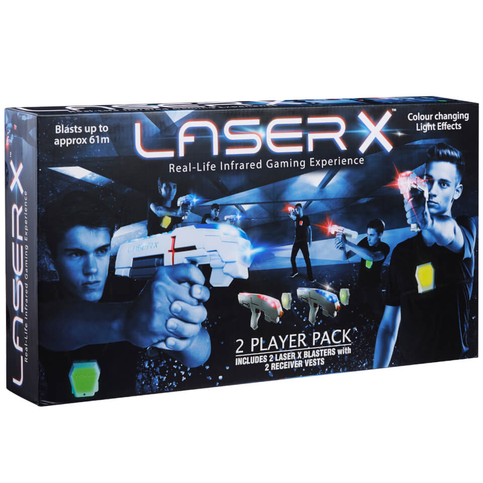 Character Options Laser X Game - 2 Player Pack