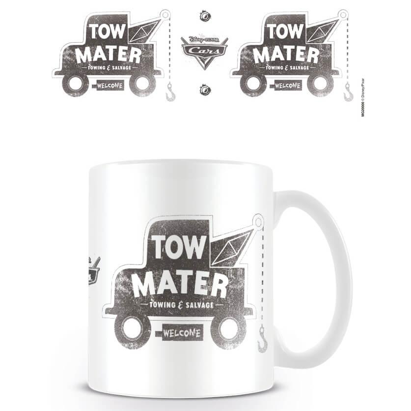 Cars Disney Pixar Coffee Mug (Cars Tow Mater)