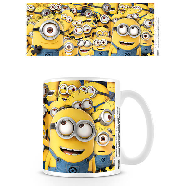 Despicable Me Coffee Mug (Many Minions)