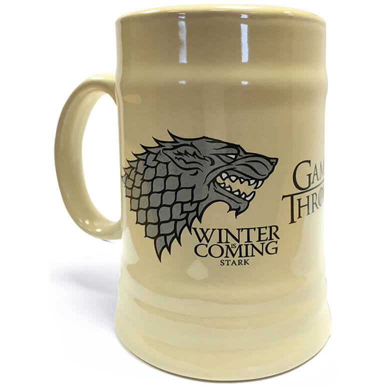 Game of Thrones Stein (House Stark)