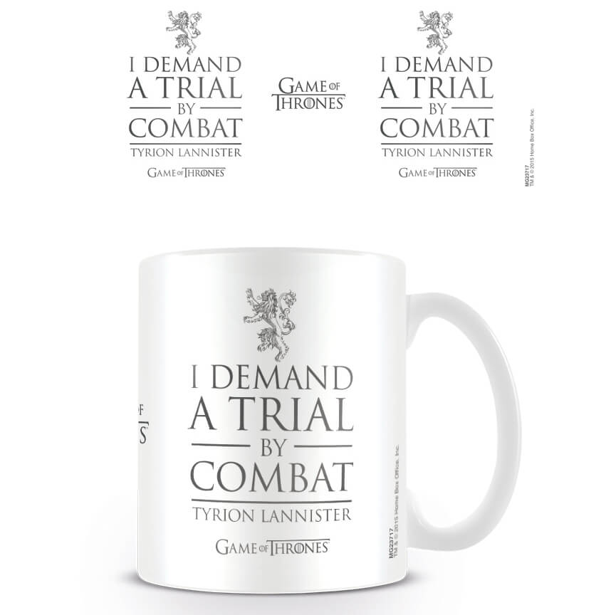 Game of Thrones Coffee Mug (Trial By Combat)