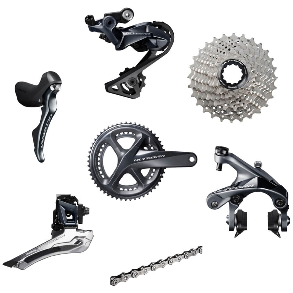 Shimano Ultegra R8000 11 Speed Groupset - 172.5mm-12/25-34/50