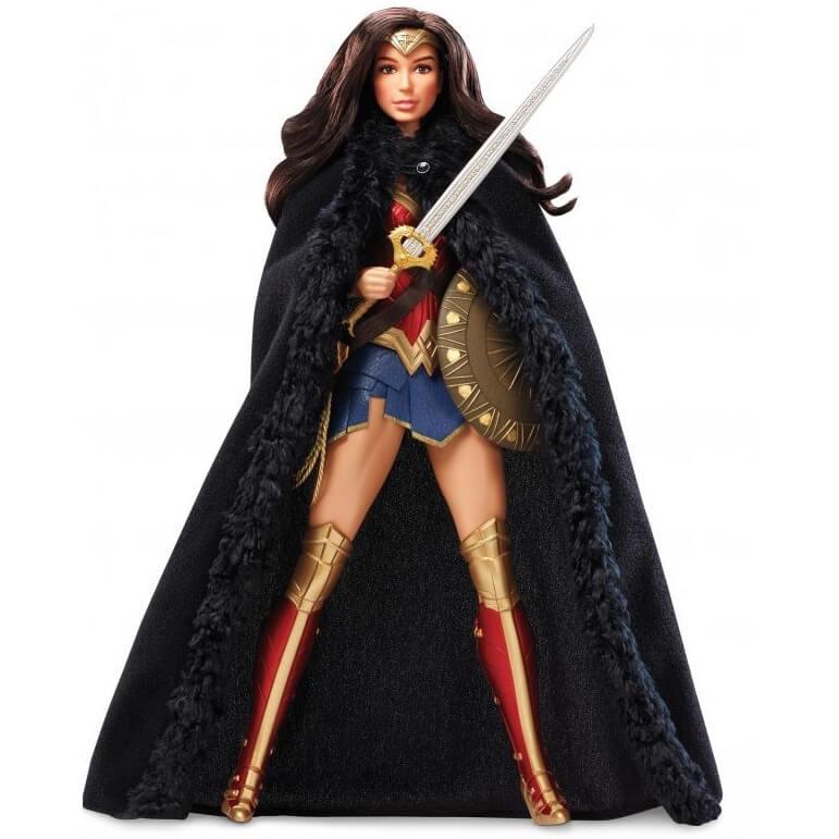Wonder Woman Black Label Barbie Doll