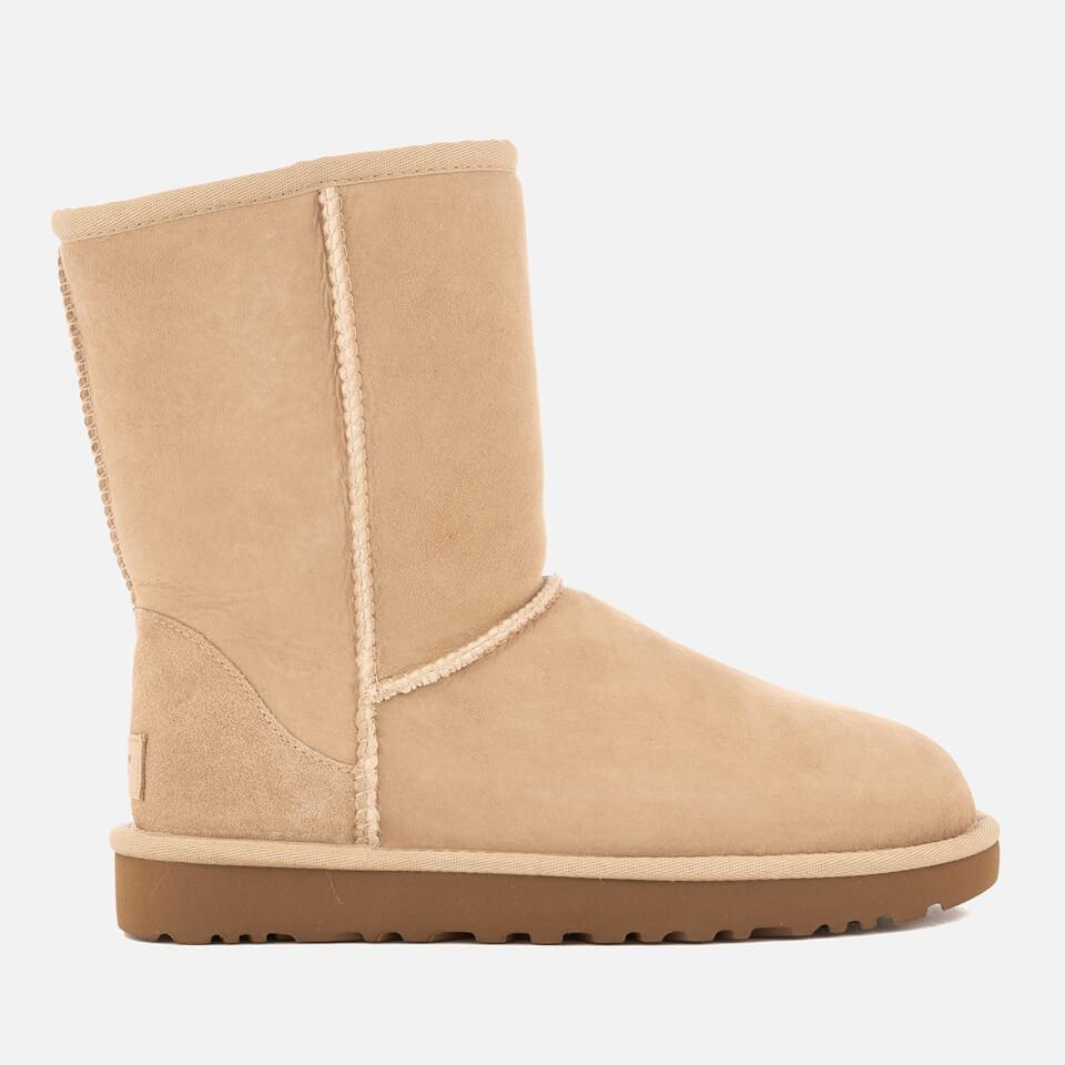 4c4ff662151 UGG Women's Classic Short II Sheepskin Boots - Sand - UK 3.5 - Beige