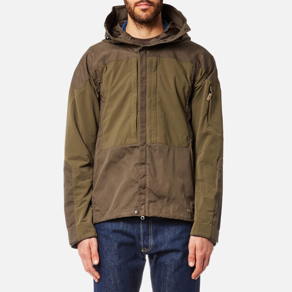 Fjallraven Men S Keb Jacket Khaki Clothing Thehut Com