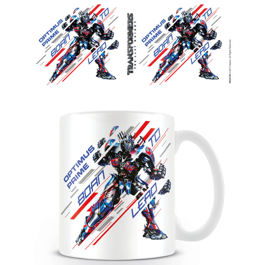 Transformers The Last Knight (Born to Lead) Mug