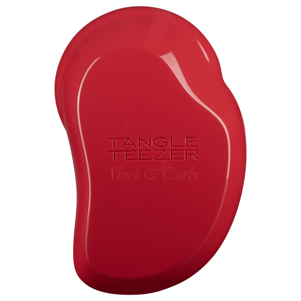 Tangle Teezer Thick and Curly Hairbrush Salsa Red