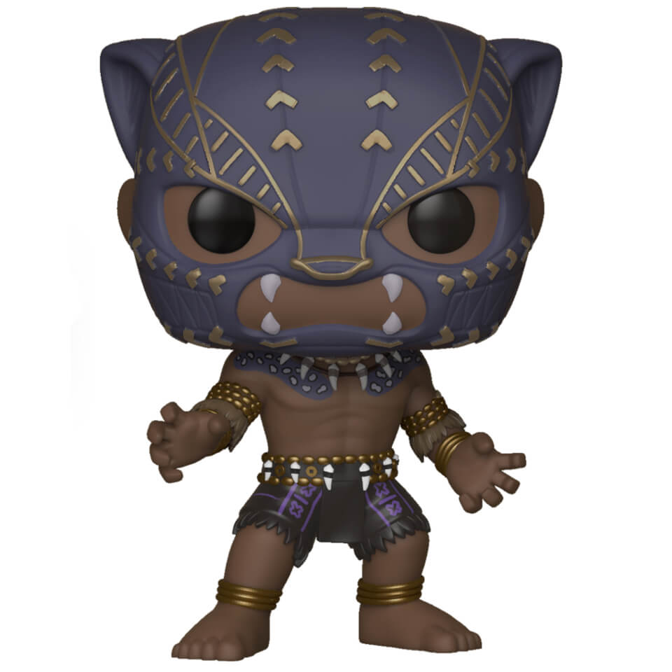 Black Panther Warrior Falls Pop Vinyl Figure Pop In A